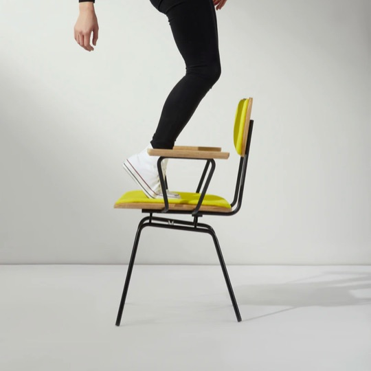 Feet of the chair