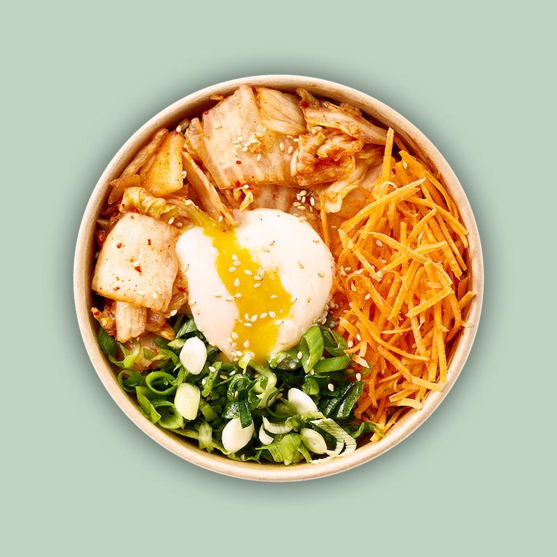 Korean Kimchi Bowl