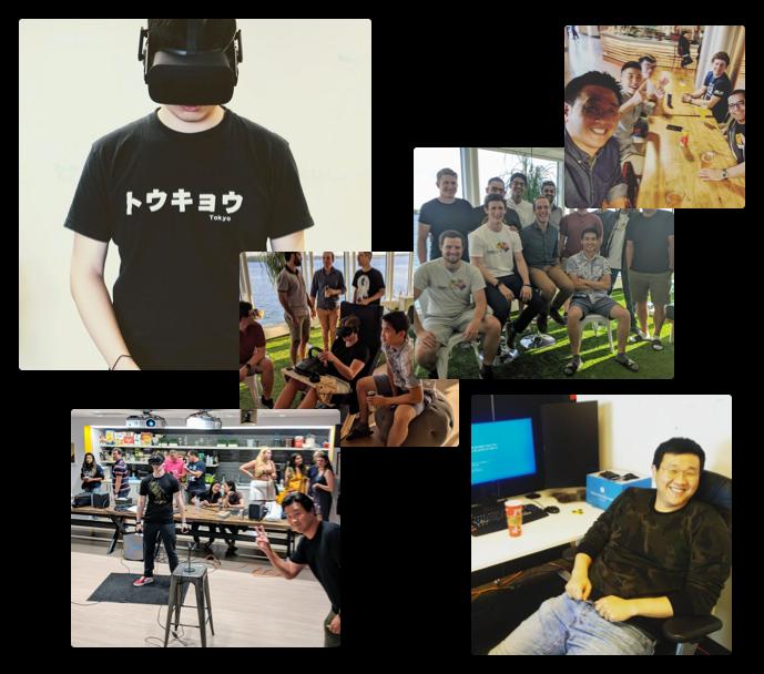Interaptix Augmented Reality Team Photo Collage