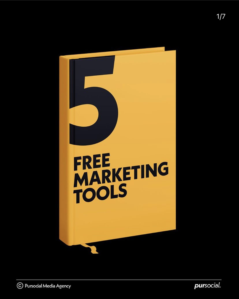 5 free marketing tools to use in 2021
