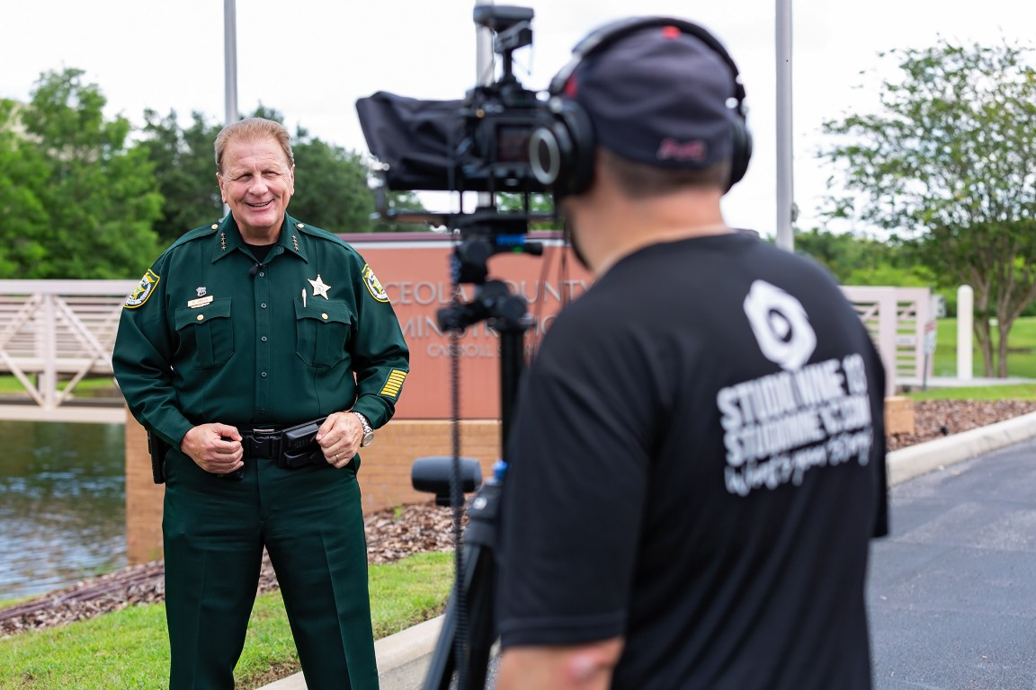 Photo of Video Production of the Russ Gibson Sheriff Campaign