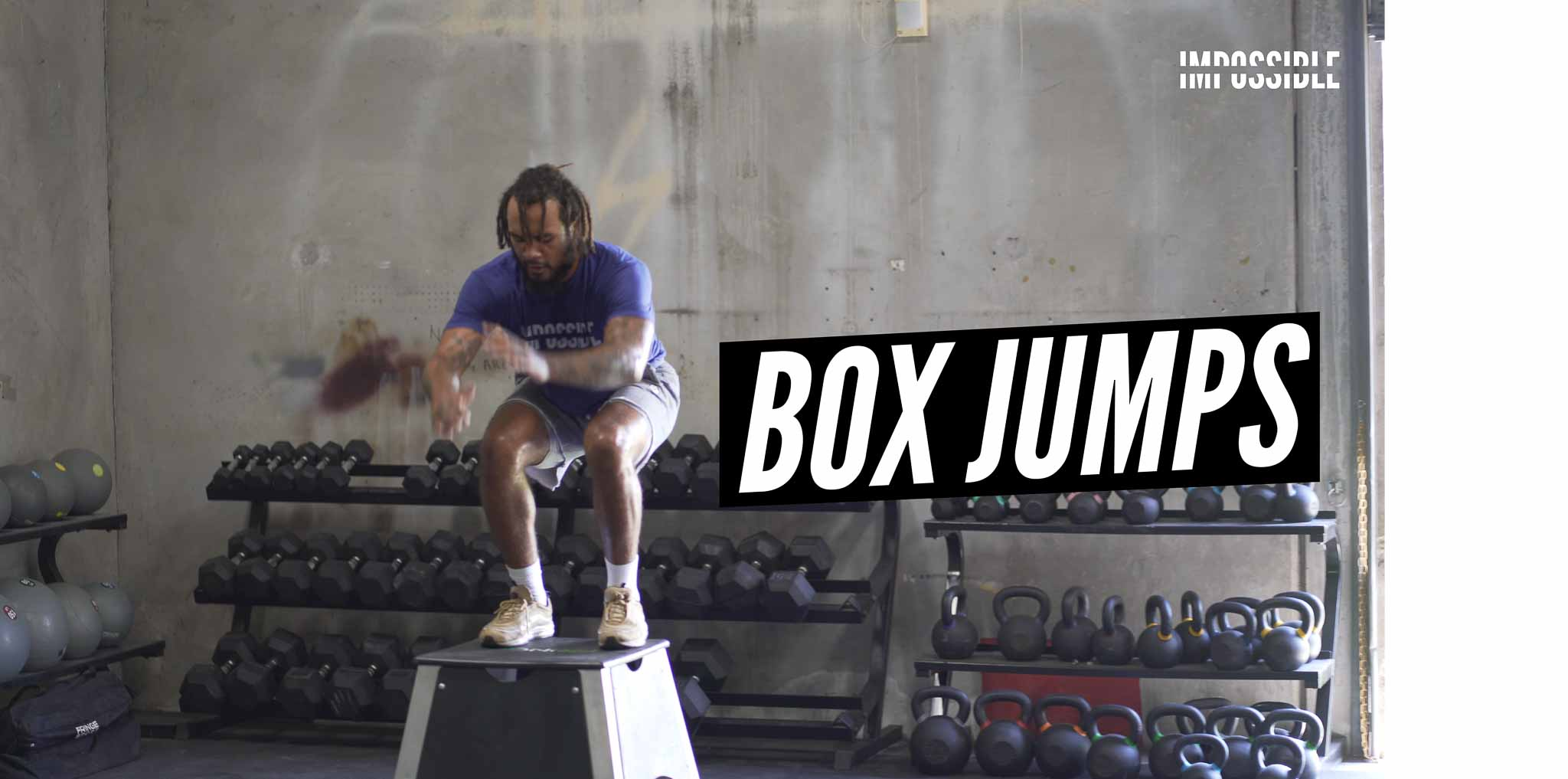 Box Jump Demonstration