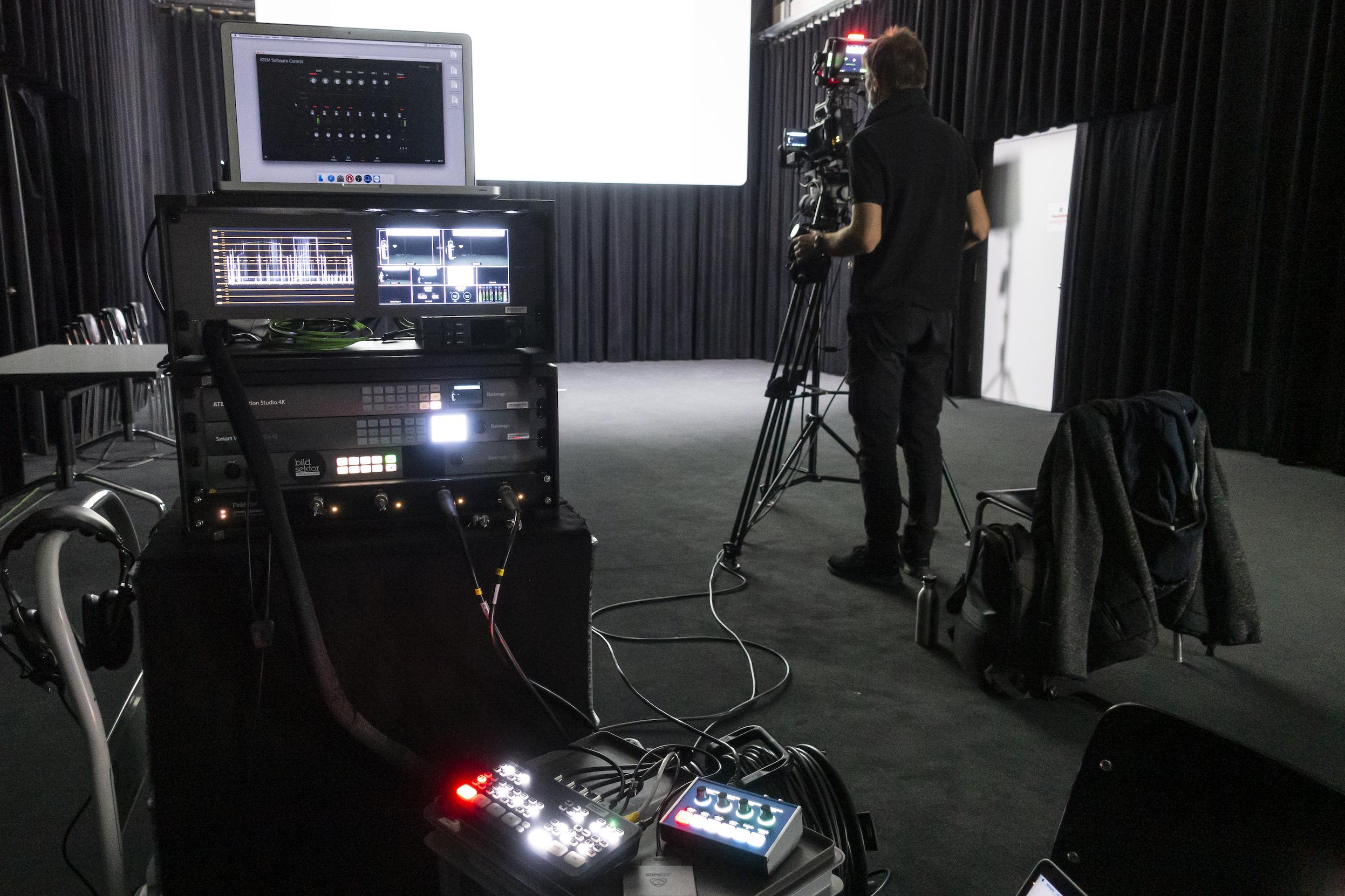 Videoaufzeichnung von Bildsektor