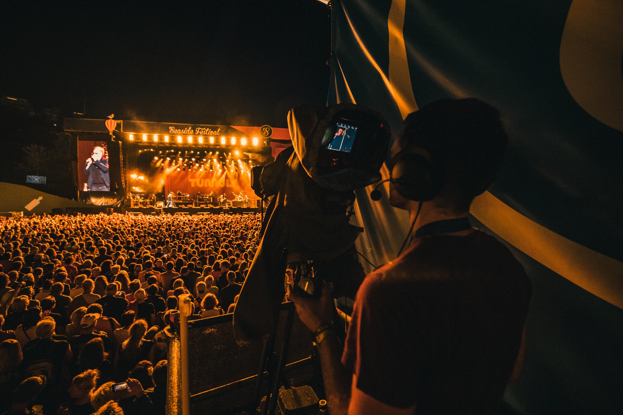 Festival Livebild von Bildsektor