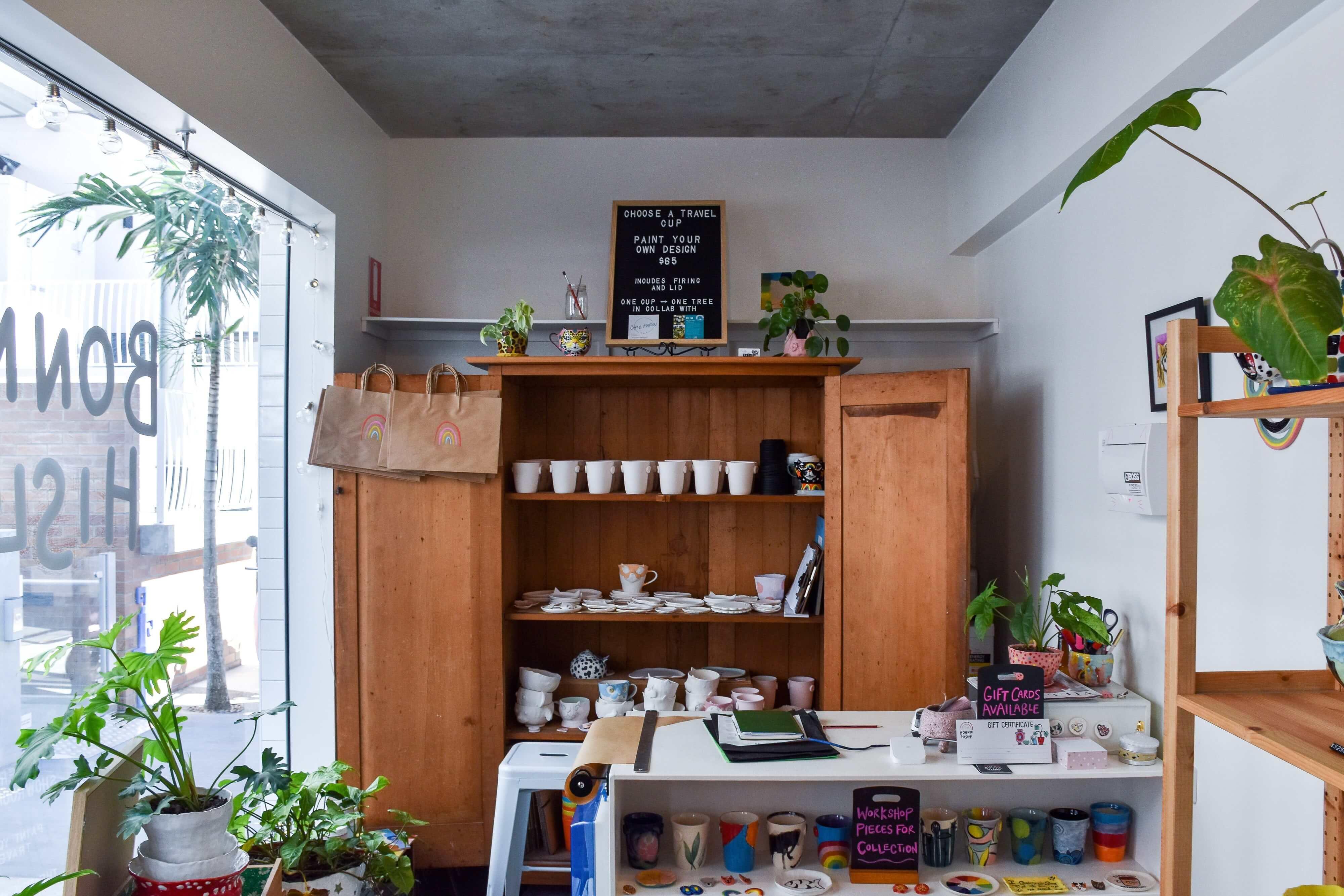 A small business shop built by passionate entrepreneurs