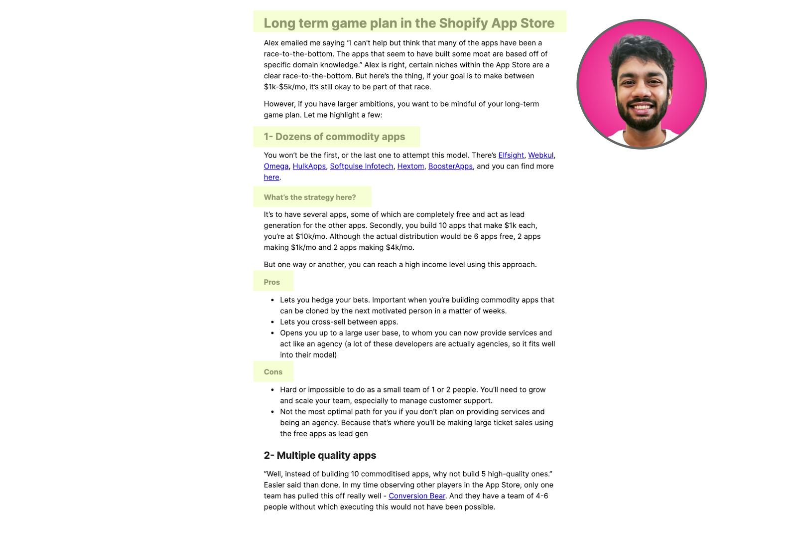 Learn writing from Preetam Nath