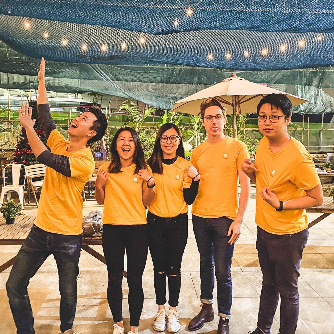 Toasty's team photo
