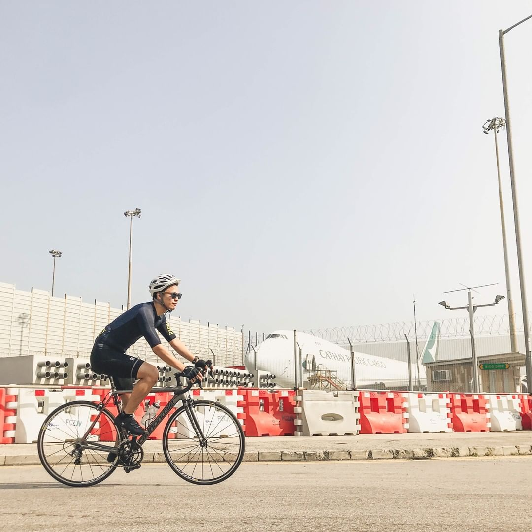Kevon's cycling habit