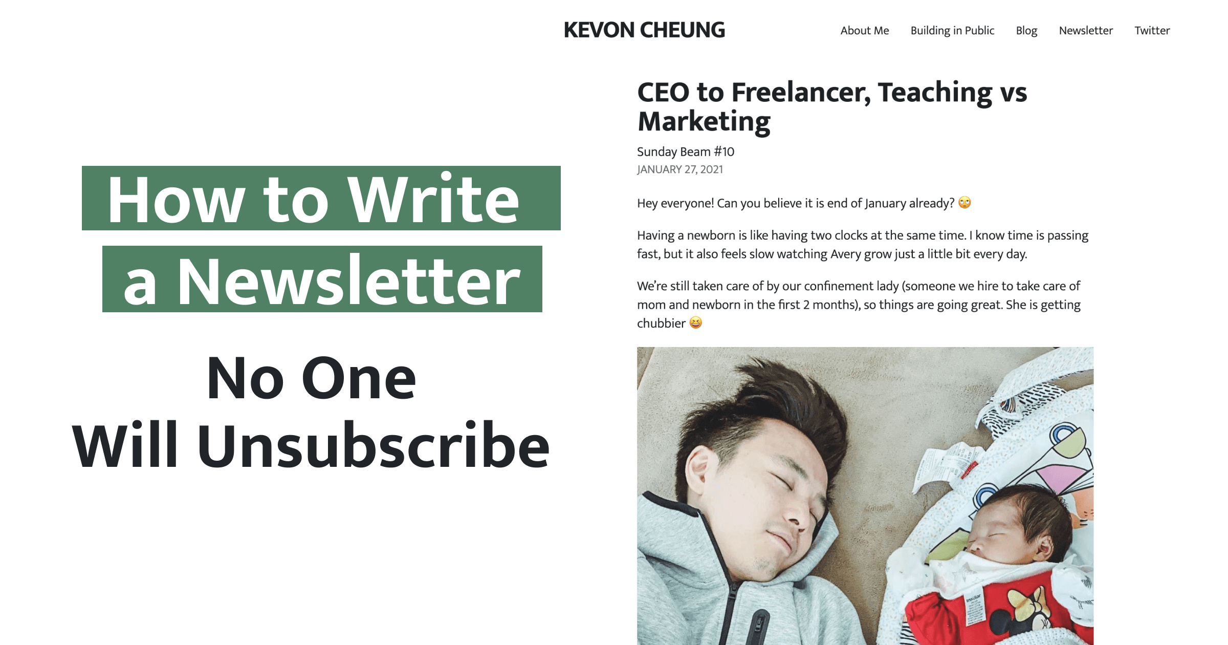 How to Write a Newsletter No One Will Unsubscribe
