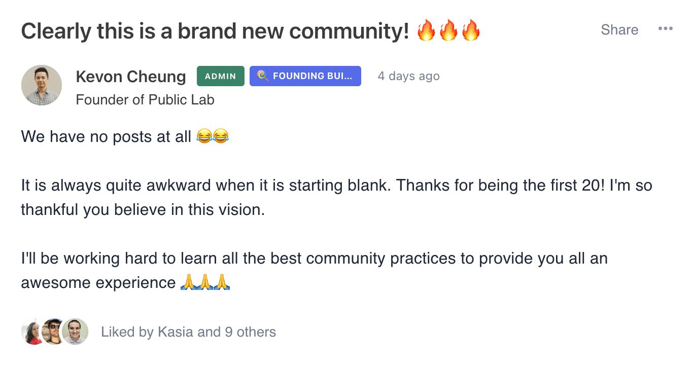 Brand new community Public Lab