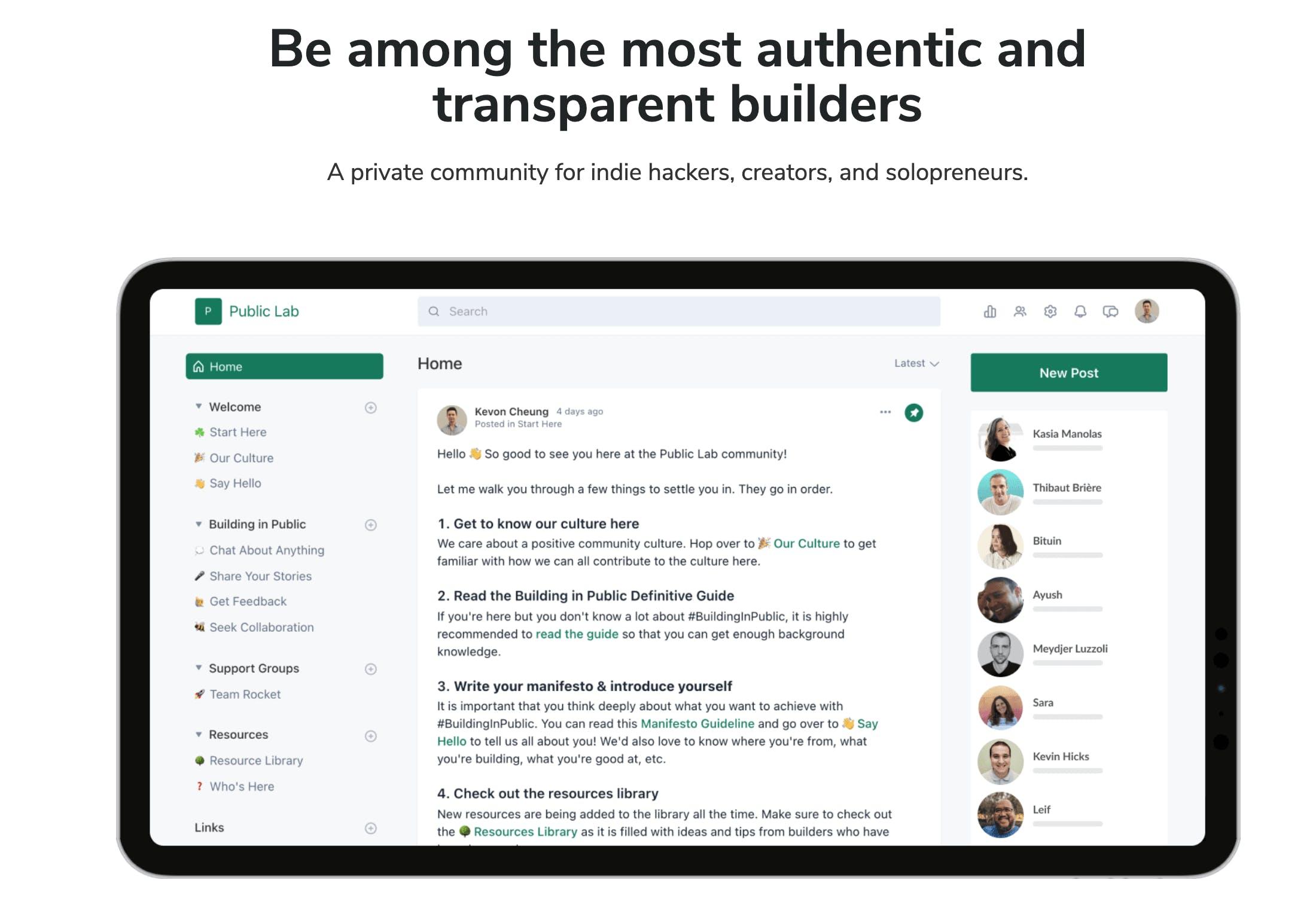 Public Lab community