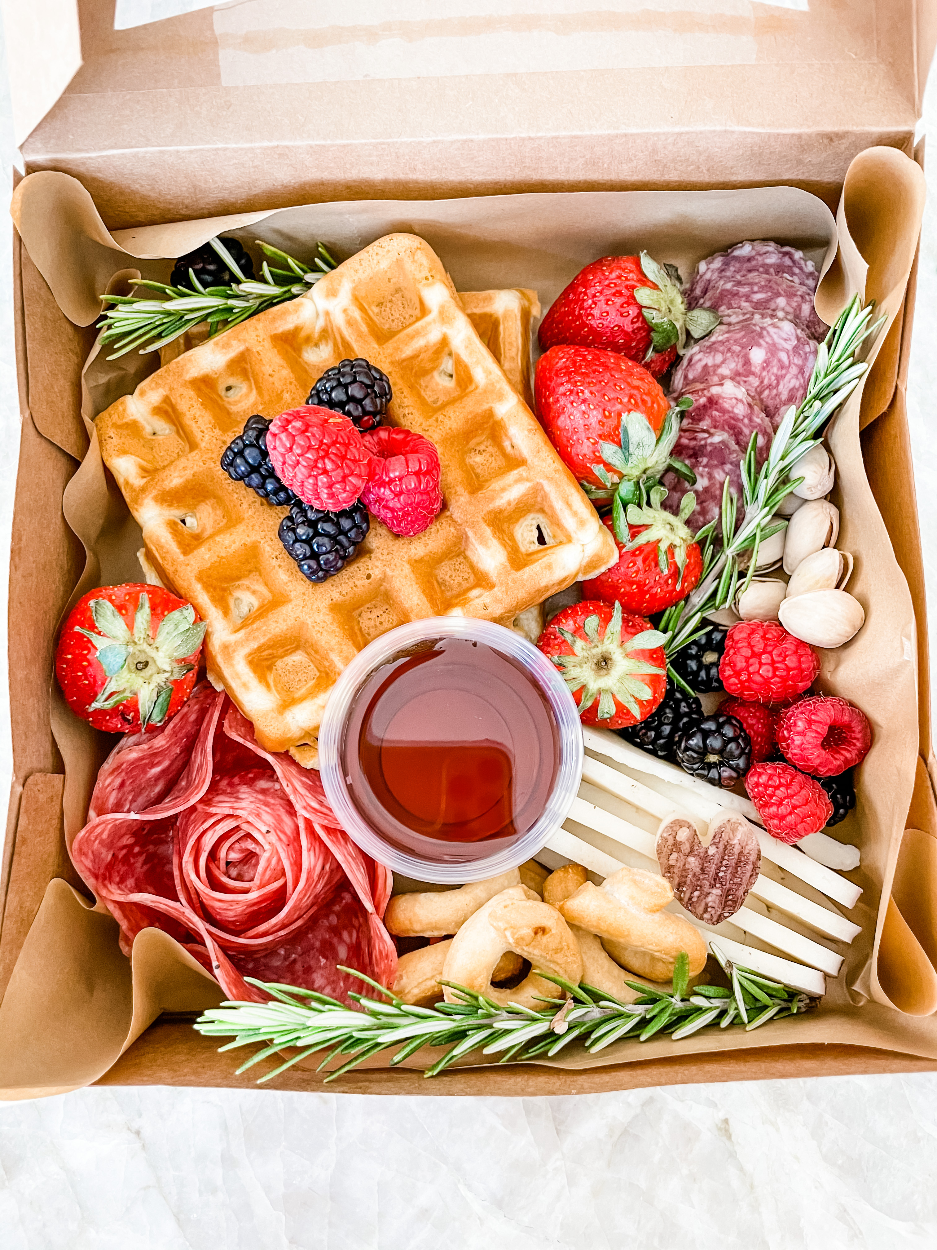 Brunch Box with Bagel