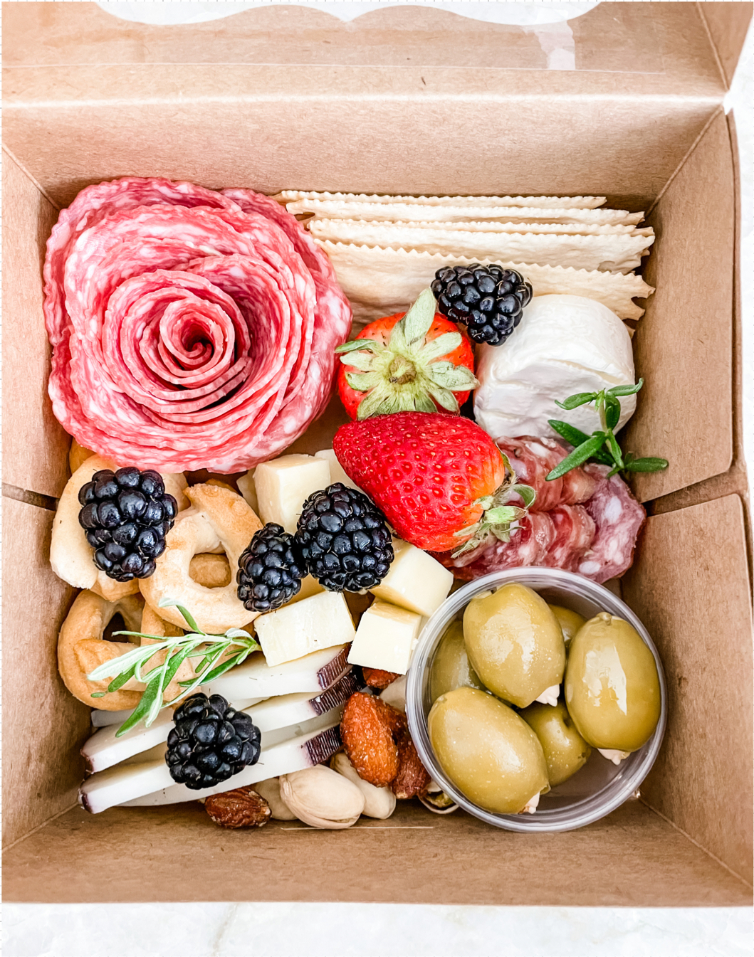 Brunch Box with Waffles