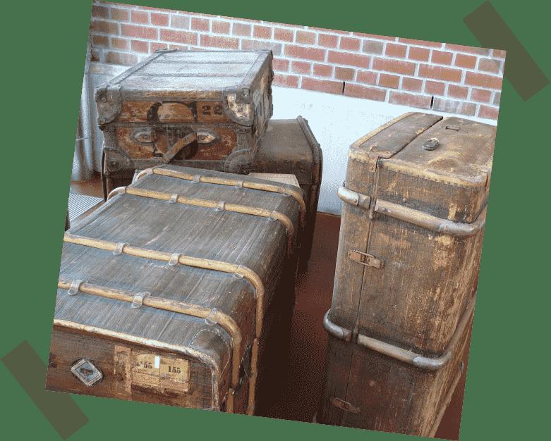 Bild von Koffern symbolisiert Lasten