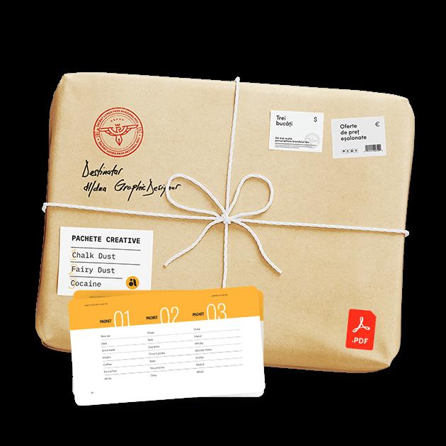 Denumiri creative pentru pachete de preturi