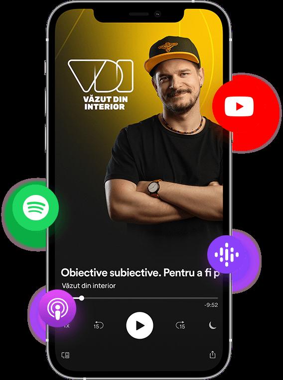 Podcastul Văzut din interior