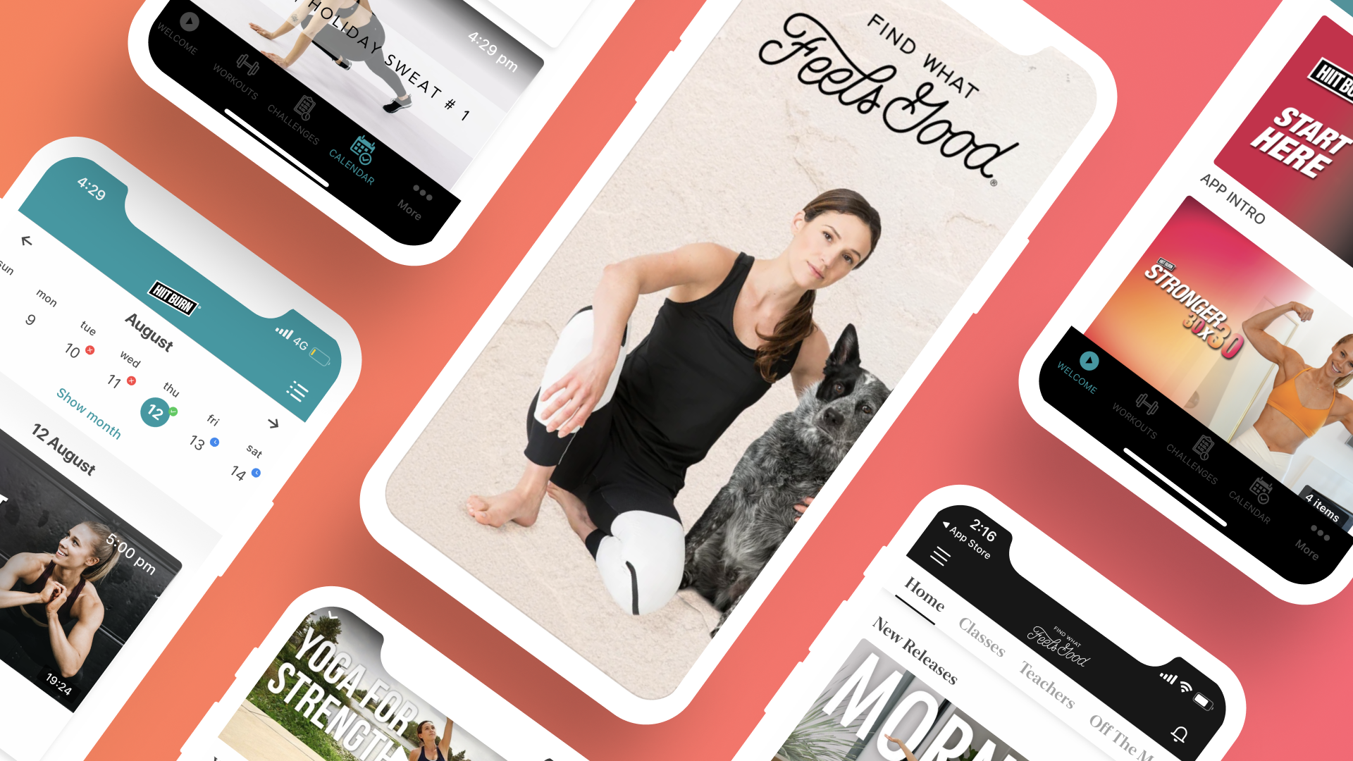 Video streaming mobile app builder for yoga expert and influencer