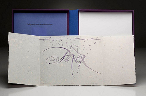 Calligraphy and Handmade Paper