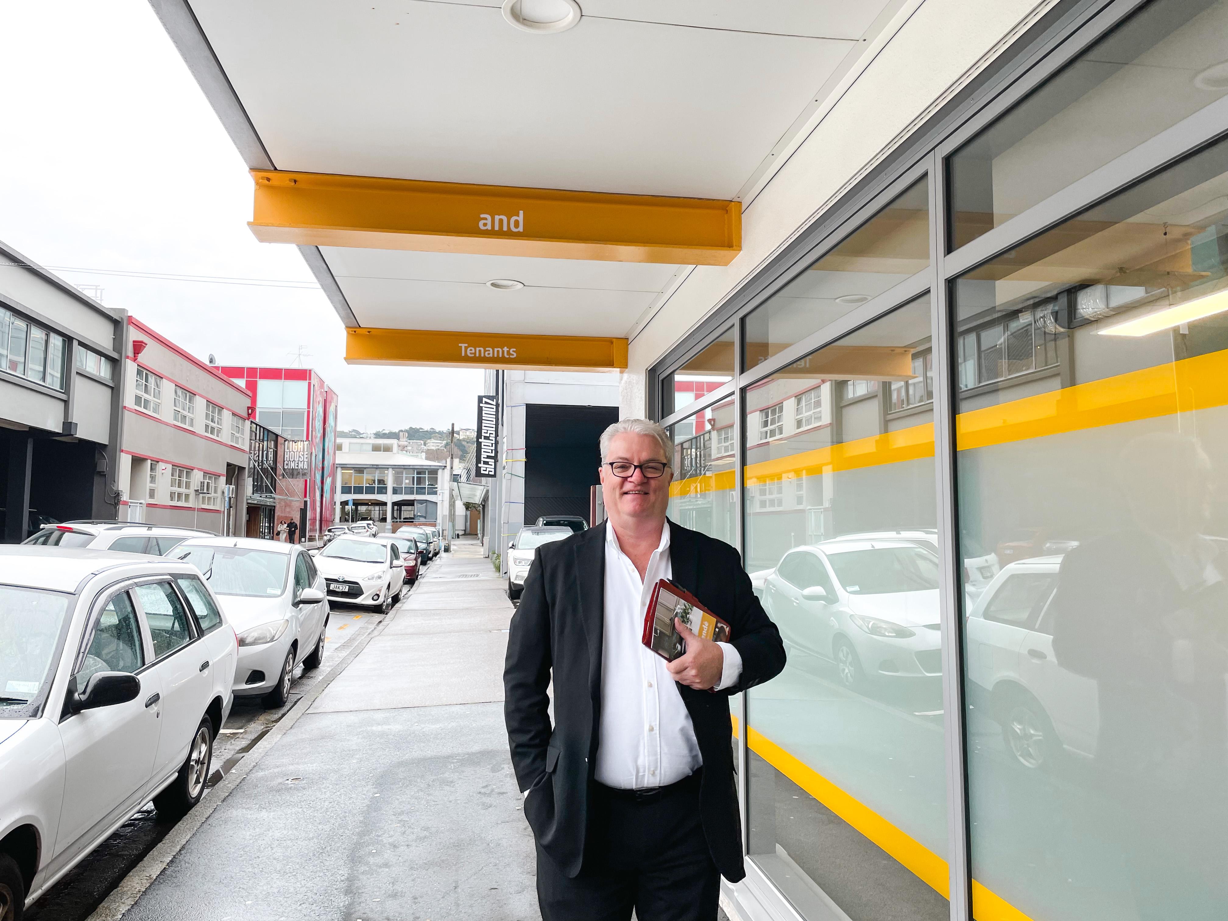 Grant Foggo from Comprendé Property Management Wellington