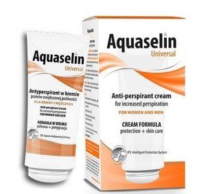 2.Kem ngăn mồ hôi và trị hôi chân Aquaselin Universal Antiperspirant Cream