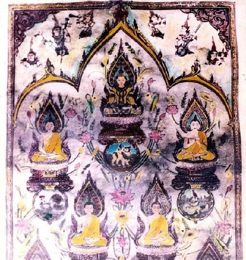 Năm ông Phật được tôn thờ trong môn phái võ Phật này là những vị nào ?