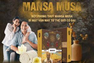 Bột phong thuỷ Mansa Musa là gì