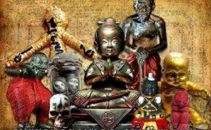 Bùa hút tài lộc Quỷ Linh Nhi – Kuman Thong