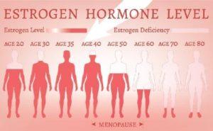 Nội tiết tố nữ estrogen bị suy giảm