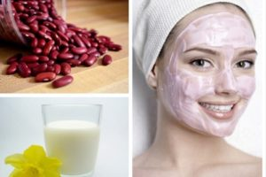 9.Bột đậu đỏ - bí quyết dưỡng trắng da mặt