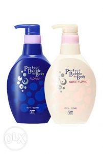 5.Sữa tắm trắng da Shiseido Perfect Bubble For Body Floral