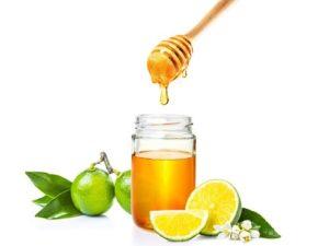 Cách trị mụn ẩn dưới da bằng mật ong + chanh