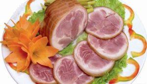 Loại bỏ mụn nhọt với thịt lợn xông khói