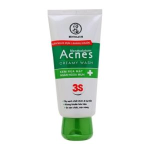 Sữa rửa mặt trị mụn Acnes Creamy Wash