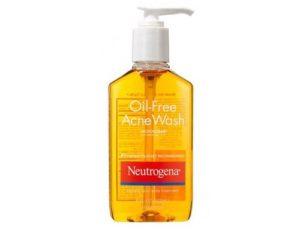 Sữa rửa mặt trị mụn giá rẻ Neutrogena Oil-Free Acne Wash
