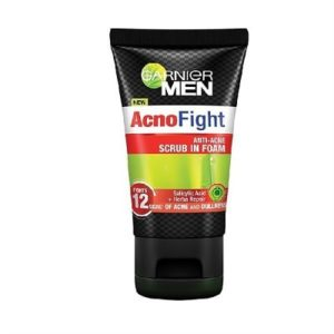 Sữa rửa mặt trị mụn cho nam Garnier Men AcnoFight