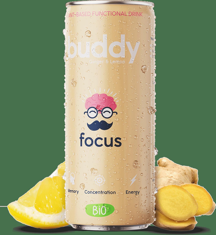 Buddy drink Ginger Lemon
