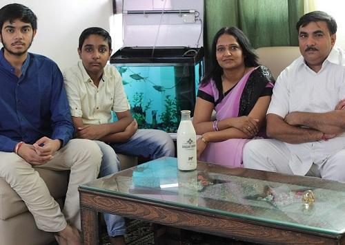 Bhagwan Family, Happy Family Customers
