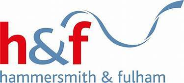 h and f logo