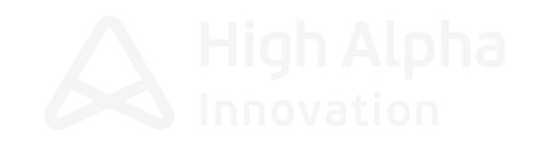 High Alpha Innovation logo
