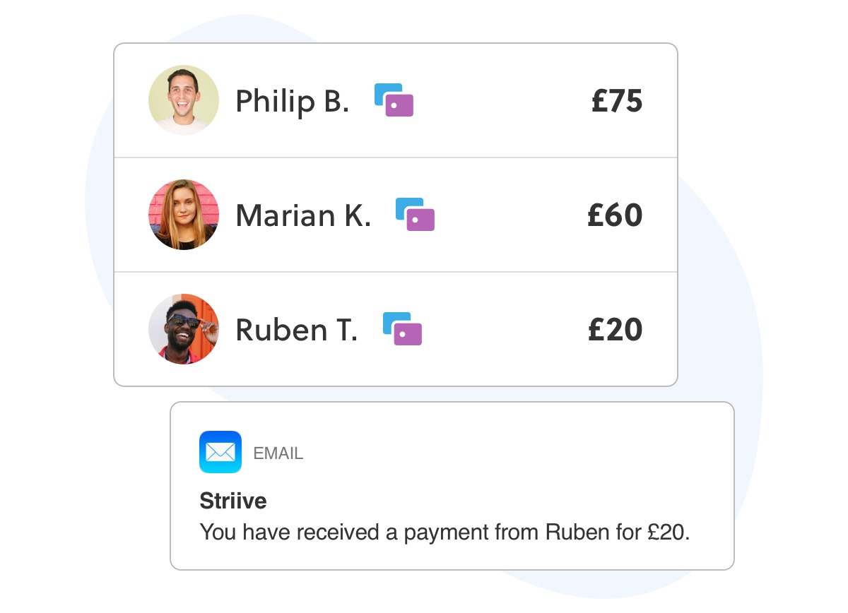Striive Payments makes getting paid simple
