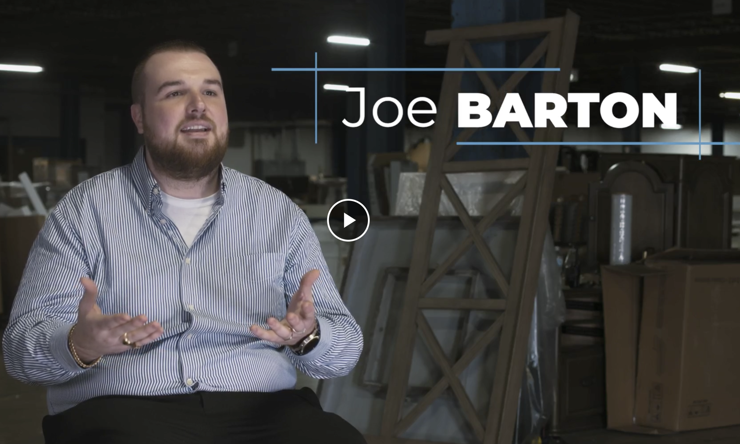 Video of Joe Barton of Barton Discounts
