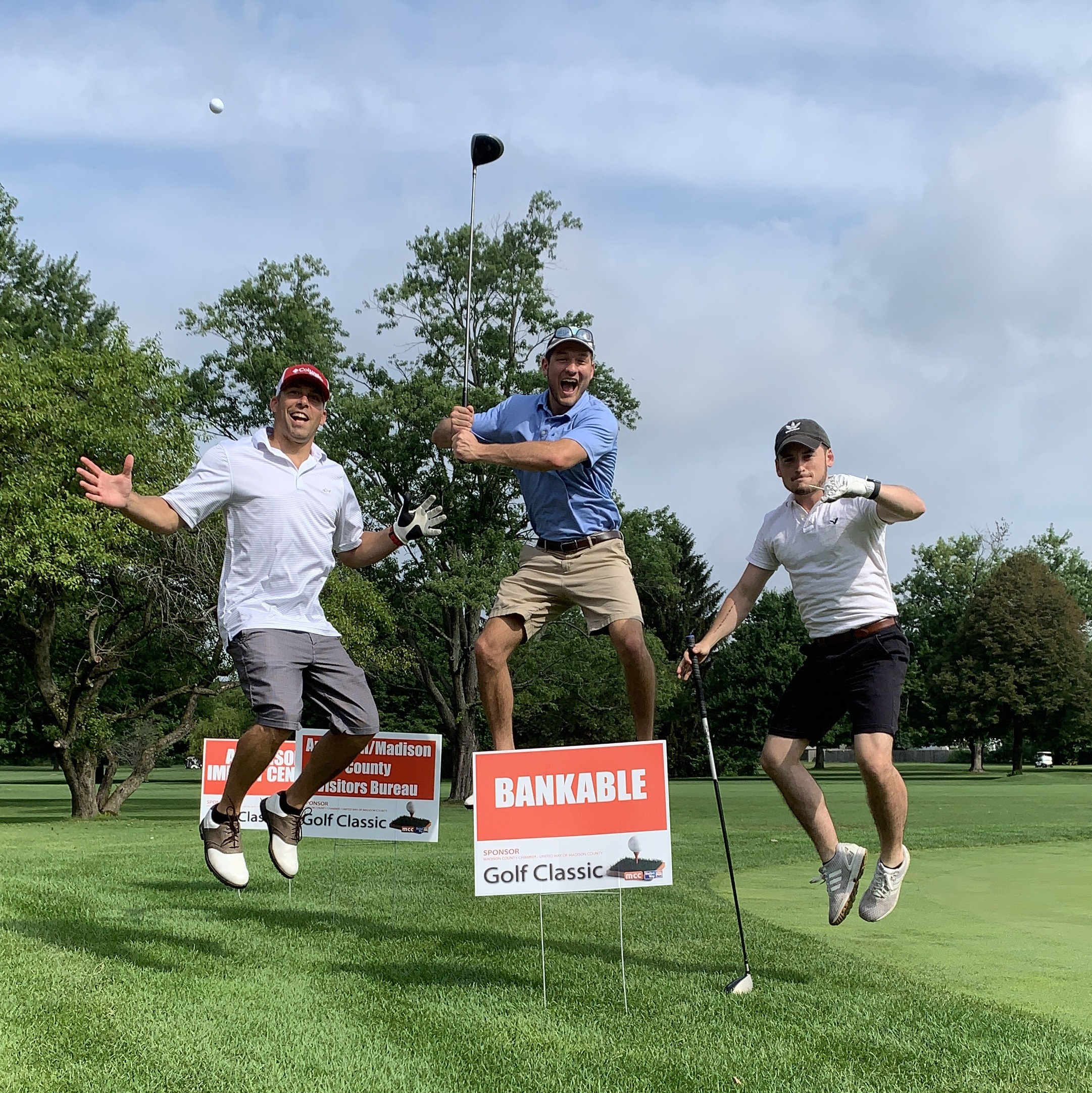 Bankable golf outing