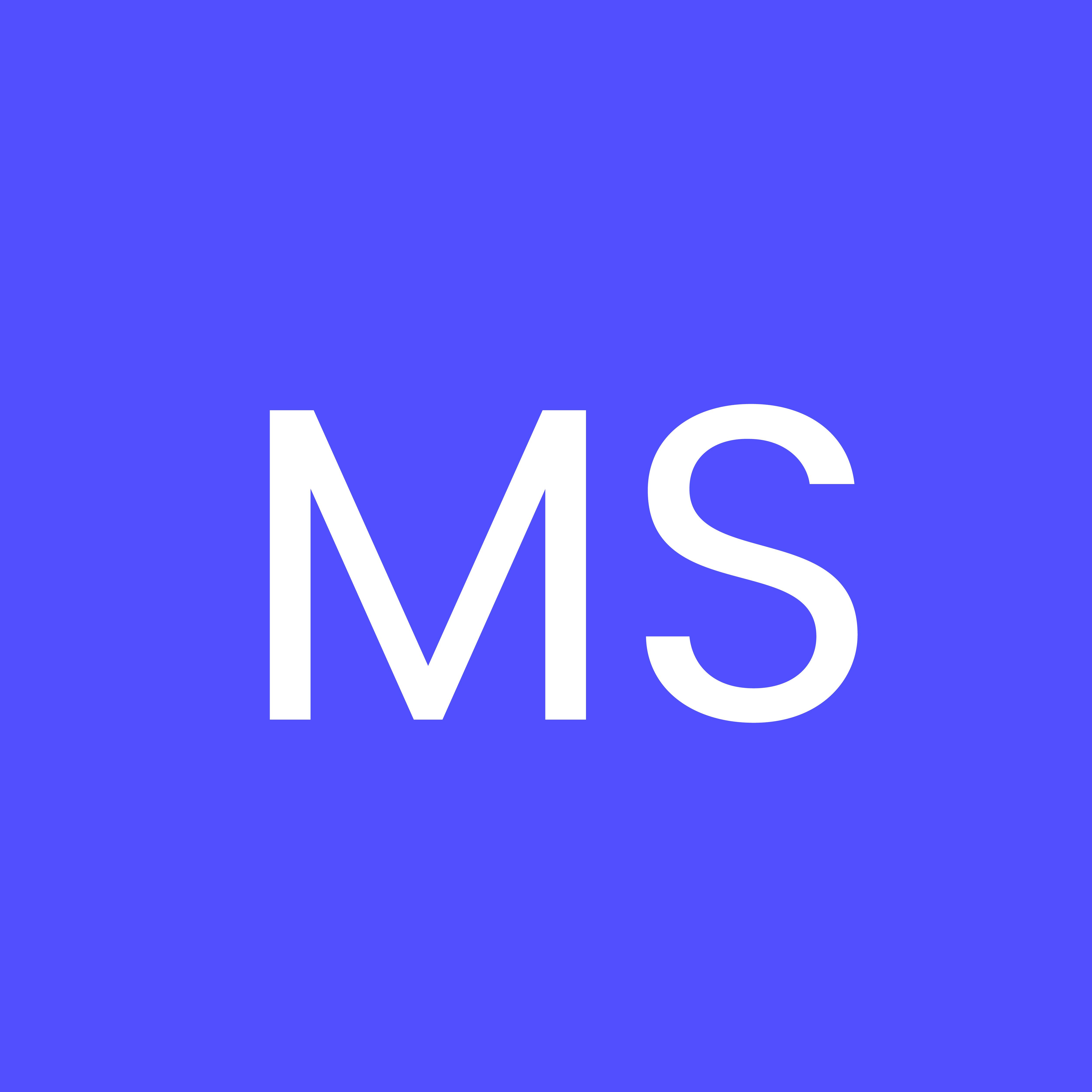 Logo for Maya Siegel