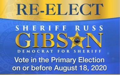 Re-Elect SHERIFF RUSS GIBSON