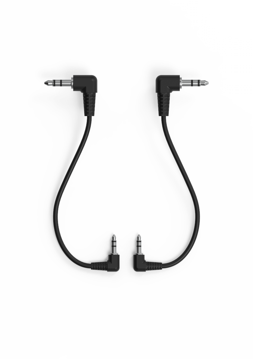 2.5mm TRS to 3.5mm TRS cable adapter