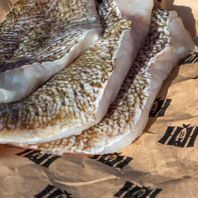 Rockfish Fillets on paper