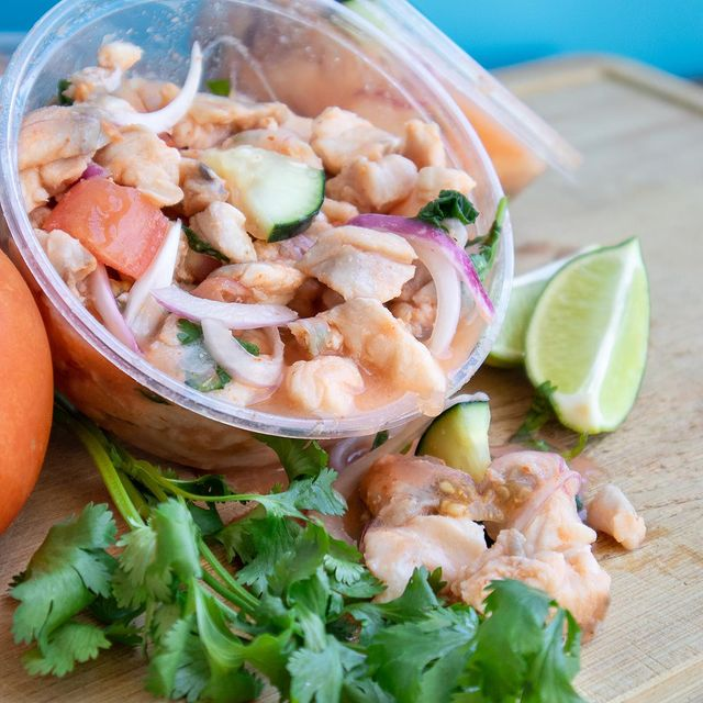 Local House-Made Rockfish Ceviche