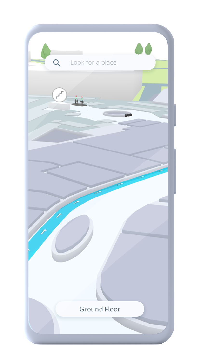 Indoor mapping visualization on mobile