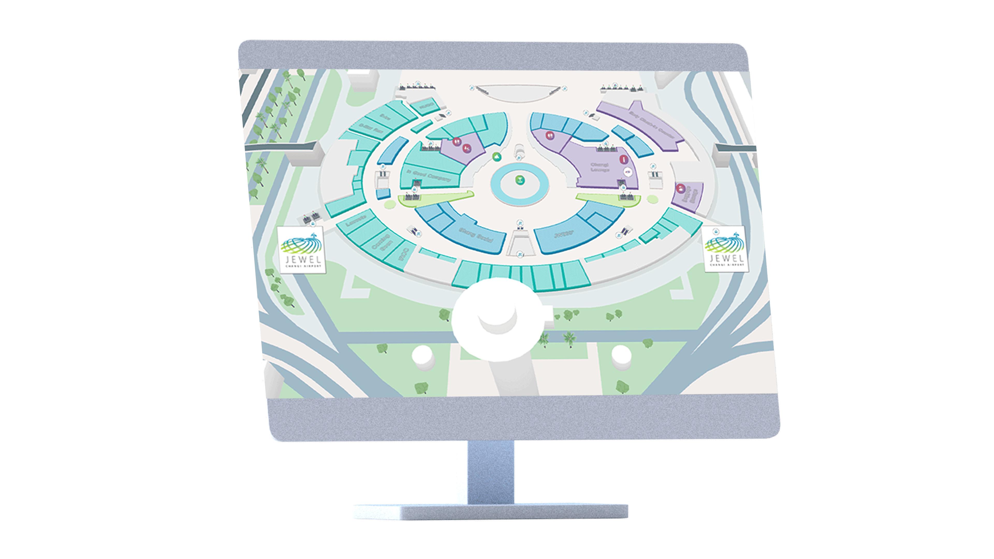 Indoor maps visualization on web