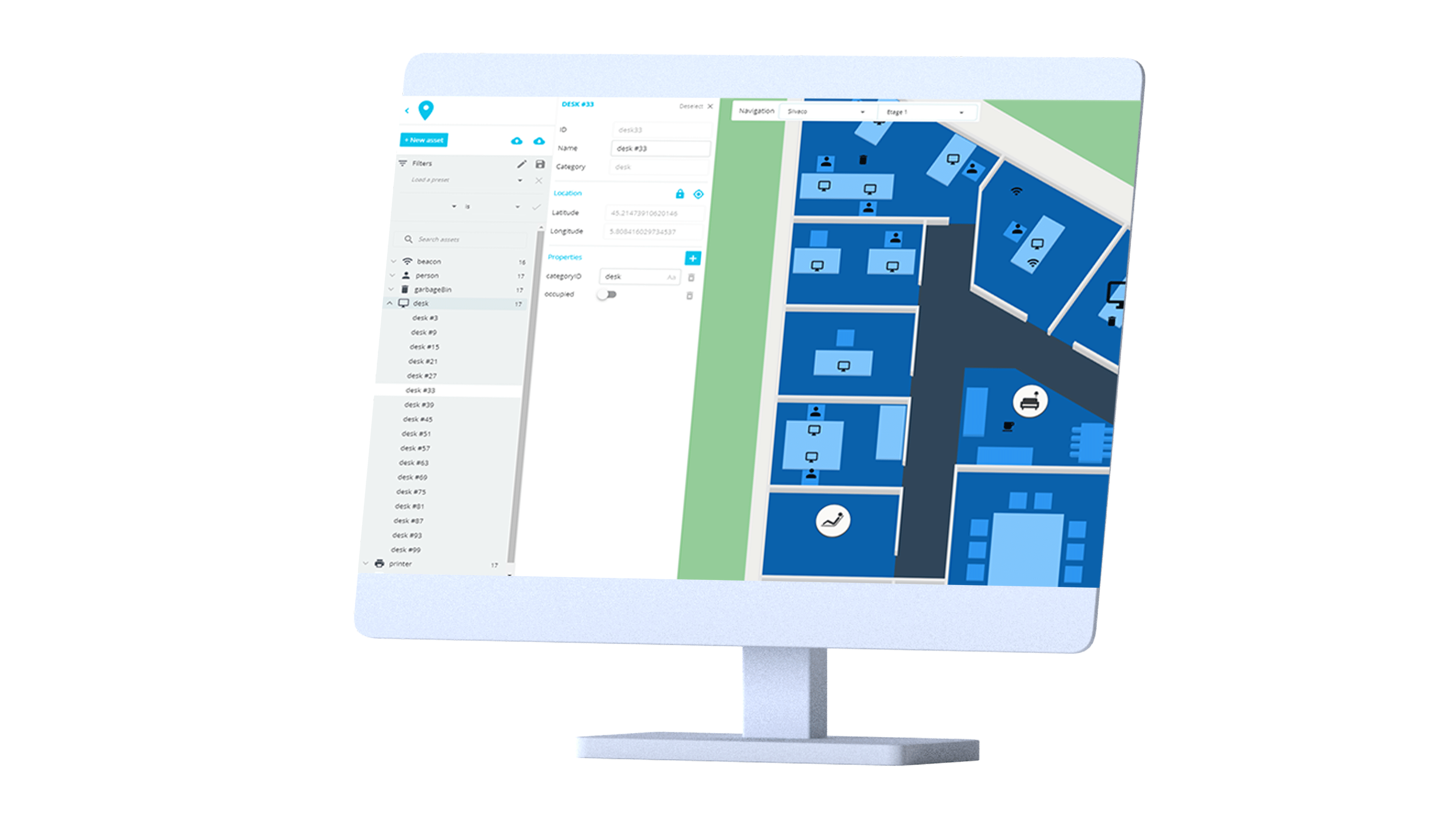 Track and locate your assets with VisioAssets